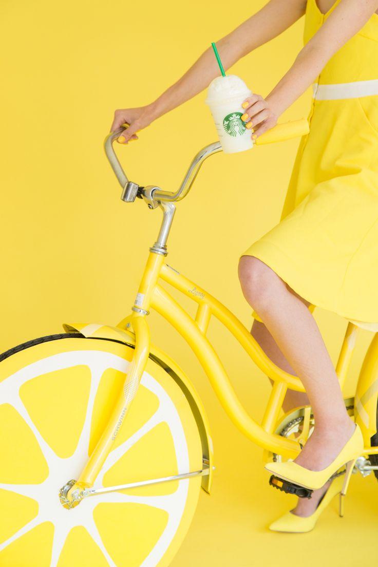 DIY Lemon Photobooth Bike Prop