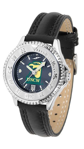 North Carolina Wilmington Seahawks Womens Competitor Anochrome Watch