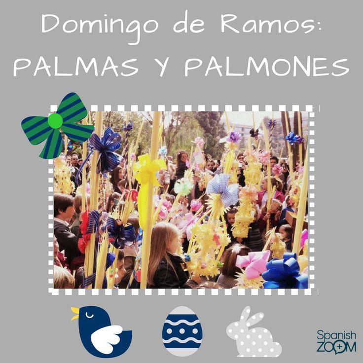 ¡Feliz #DomingoDeRamos! :) Esta celebración cristiana conmemora la entrada de #Jesucristo en Jerusalén y da inicio a la #SemanaSanta. En este domingo 9 de abril se celebra la tradicional bendición de #palmas y #palmones. Dice la #tradición que la madrina regala a su ahijada una bonita y elaborada #palma, y si es chico, un #palmón (¡cuanto más largo mejor!). #tradiciones #traditions #palmasypalmones #easterweek #felizsemanasanta #happyeaster #españa #spain #barcelona #zoom #languages…
