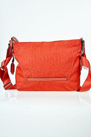 Calvin Klein Premium Torebka Jules 2 Messenger Orange