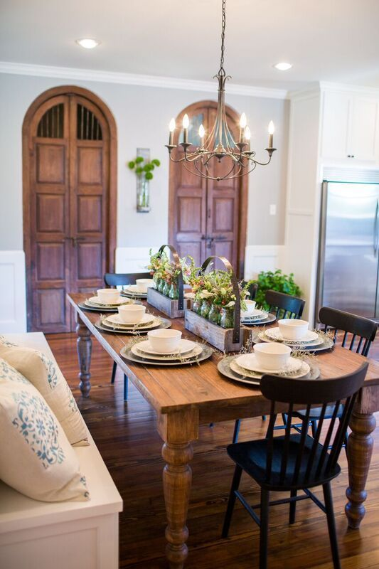 811 best images about fixer upper hgtv on pinterest hgtv for Fixer upper dining room ideas