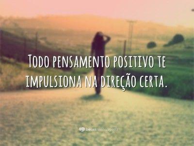 Todo pensamento positivo