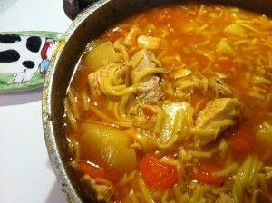 Cuban Chicken Soup