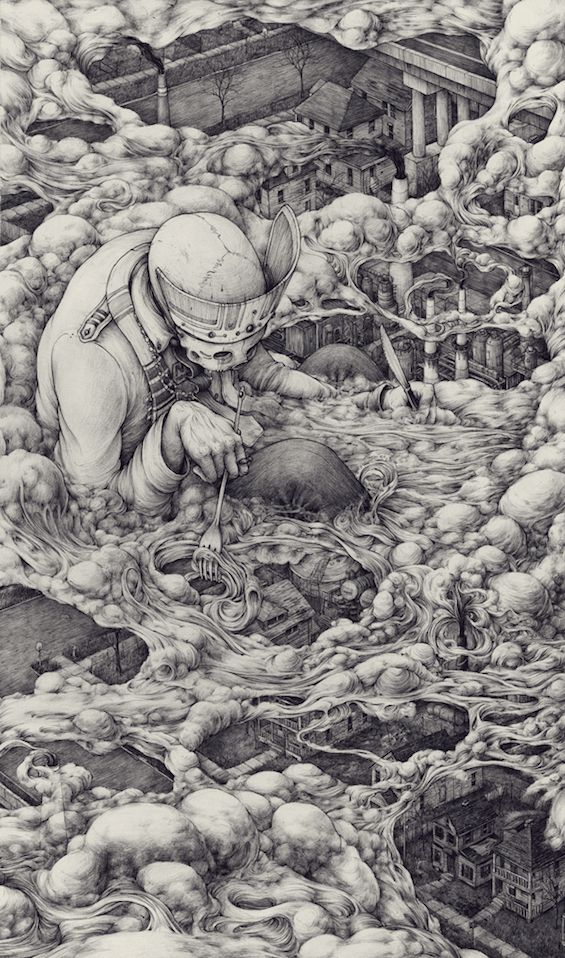 Pat Perry's Intricate Drawings Of Memory And Place