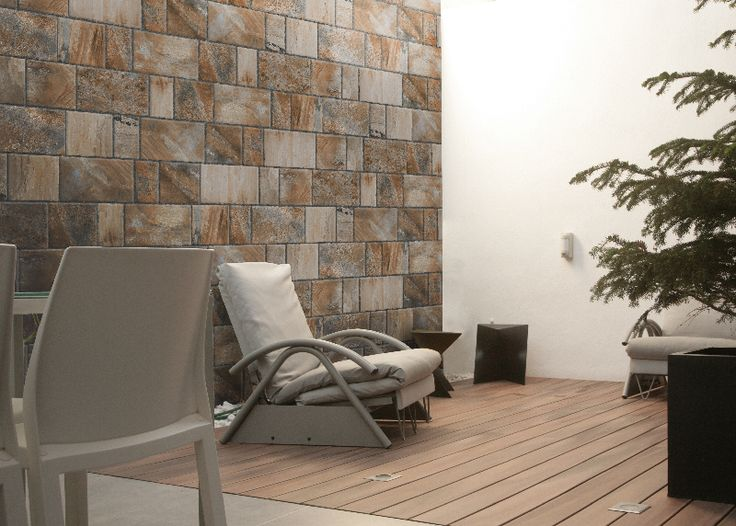 Megalitic series from Tile of Spain manufacturer Keros will be shown at Cersaie 2013