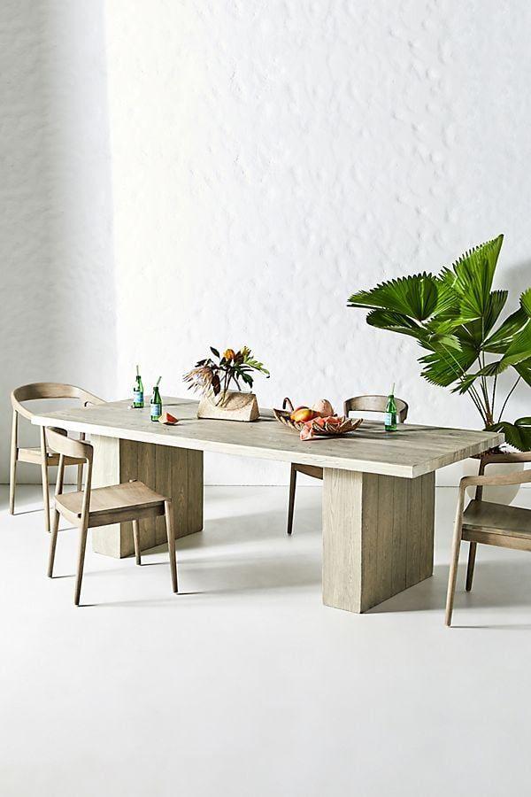 Concrete Dining Table Backdoor Livinnnn Concrete Dining