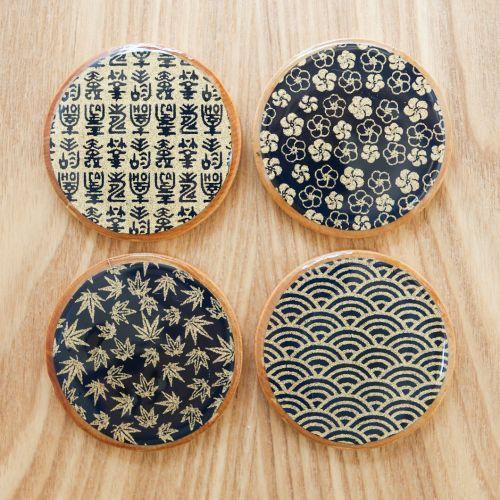 Asian Teacup Coasters | Thirsty for Tea mod podge coasters