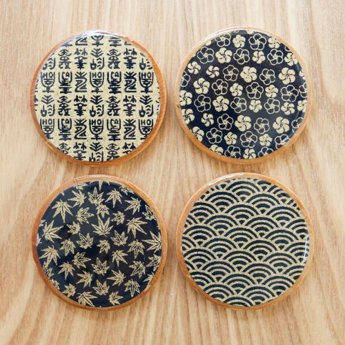 Asian Teacup Coasters | Thirsty for Tea mod podge coasters