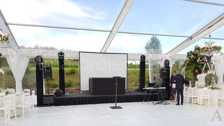 ALMA PROJECT 24/7 @ Castel Monastero - Stage 6x2 + 3m screen _ mh Eva console Black - setup - 403