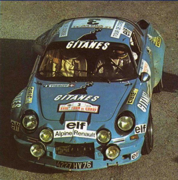 Tour de Corse 1974 – Larrousse Gérard – Delferrier ChristianiconAlpine-Renaul…
