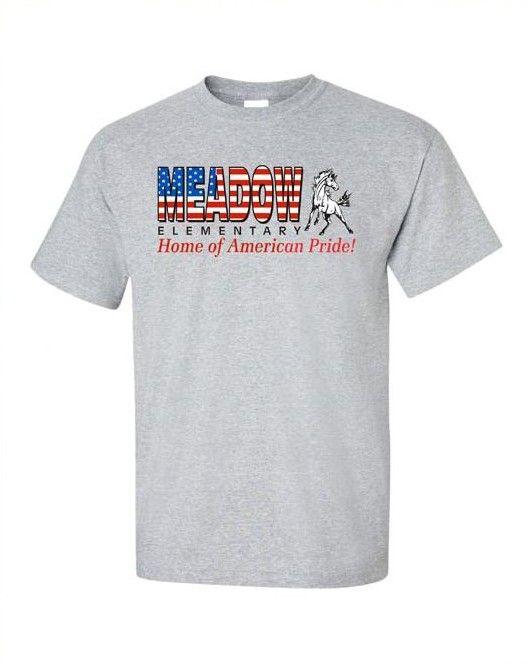 Mustangs Spiritwear T Shirt Design. School Spiritwear Shirts And Apparel.  Use Your Mascot