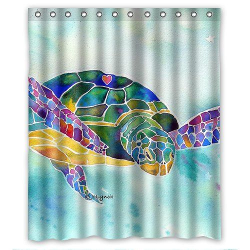 top sale Sea weed sea turtle painting Custom Shower Curtain 60x72 Inch enjoy Flipped H http://www.amazon.com/dp/B00QYP7M2Y/ref=cm_sw_r_pi_dp_mrt6ub1K2YSX9