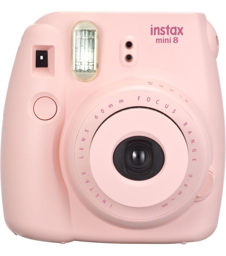 Fujifilm Instax Mini 8 Instant Camera, Pinknull
