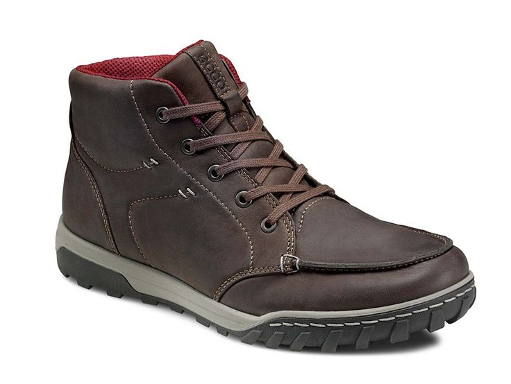 Ecco Urban Lifestyle - Brooklyn Mens Lace Up Mid Boot 830594-02192 - Robin  Elt