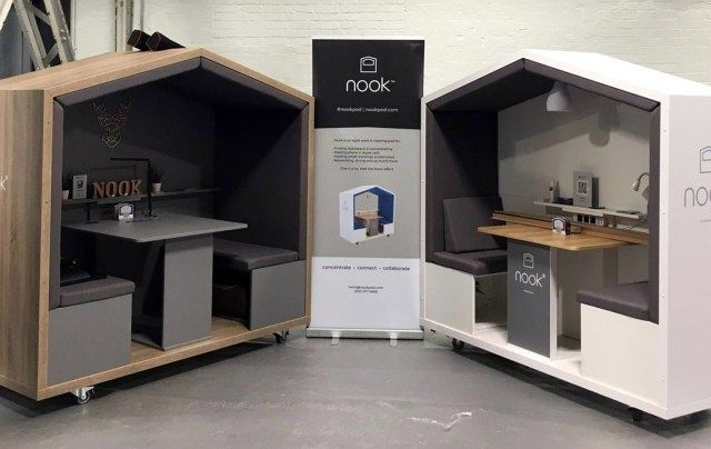 The Nook Journey Office Privacy Pod Modern Office Space Office