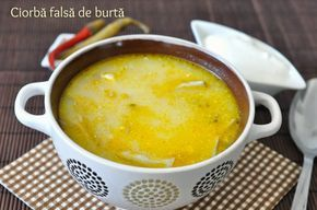 adi`s blog - Jurnal culinar: CIORBA FALSA DE BURTA