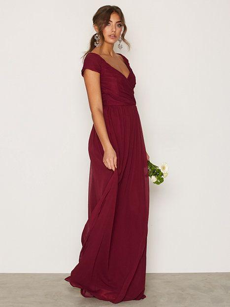 Cup Sleeve Maxi Dress