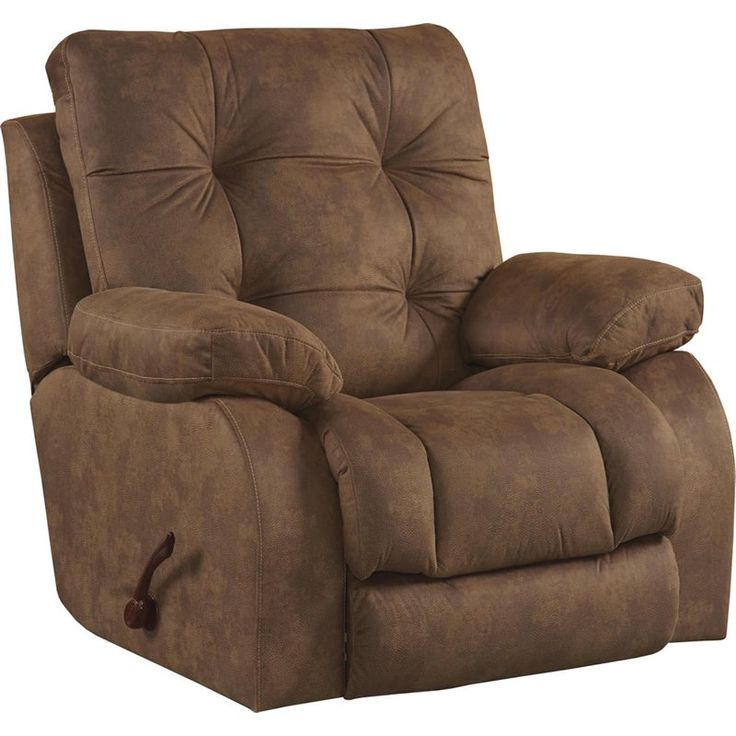 Catner Watson Lay Flat Recliner In Almond 15207205129