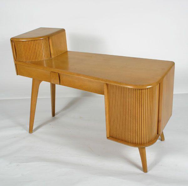 Heywood Wakefield Kohinoor Series 1949 Vanity Desk