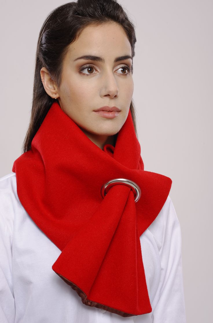 Burel Eylet Scarf.  Cosy, Stylish and available in 52 colours.