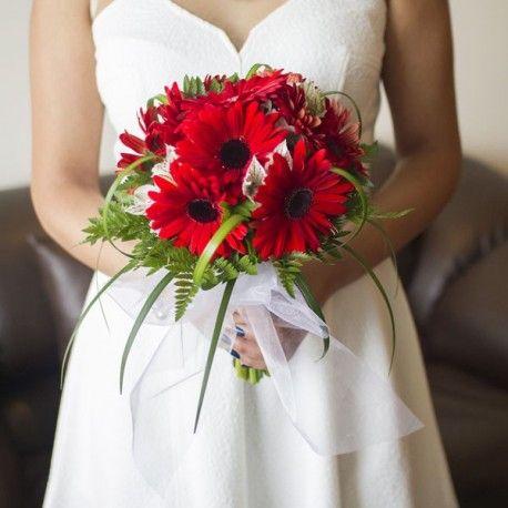 Bouquet de Gerberas Rojas