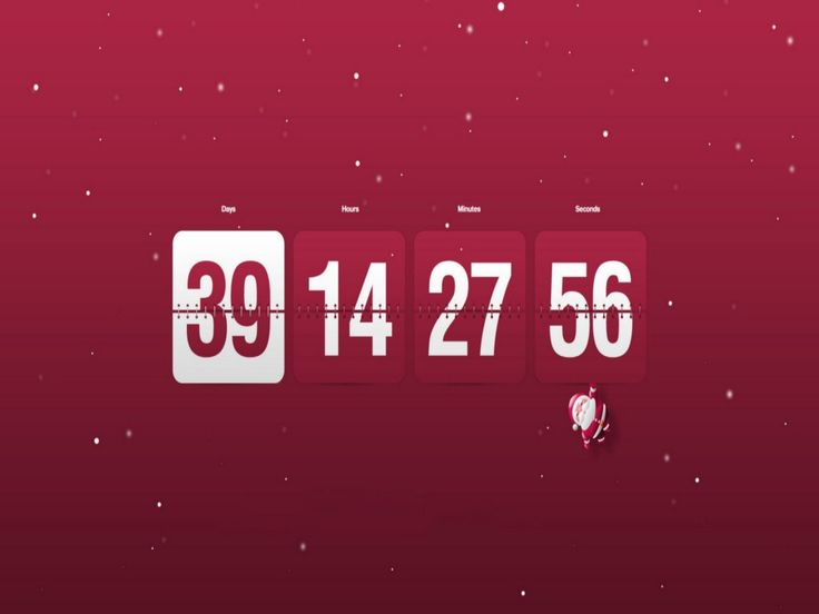 Christmas Countdown Wallpapers - THIS Wallpaper