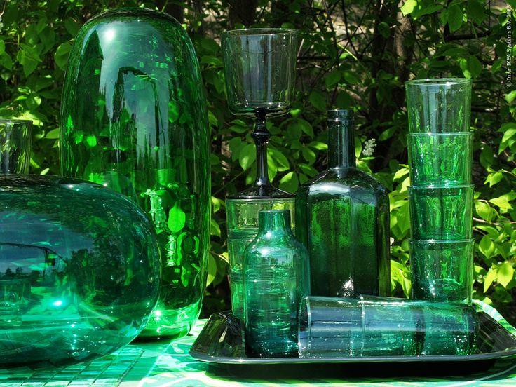 Månadens färg: Smaragdgrön