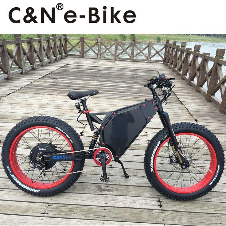 2017 Cool Design 72v 5000W Fat Tire E-bike Electric Mountain Bike/Electric Bike/Electric bicycle/Enduro ebike