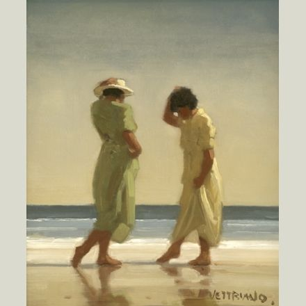 Trailing Toes - Jack Vettriano