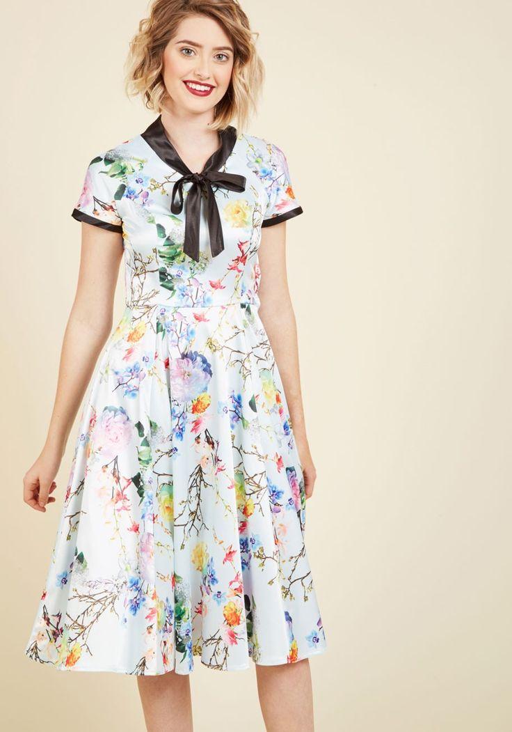 Fortune Favors the Maven A-Line Dress