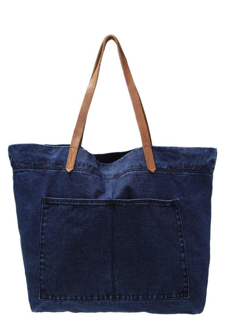 Esprit Torba na zakupy dark blue