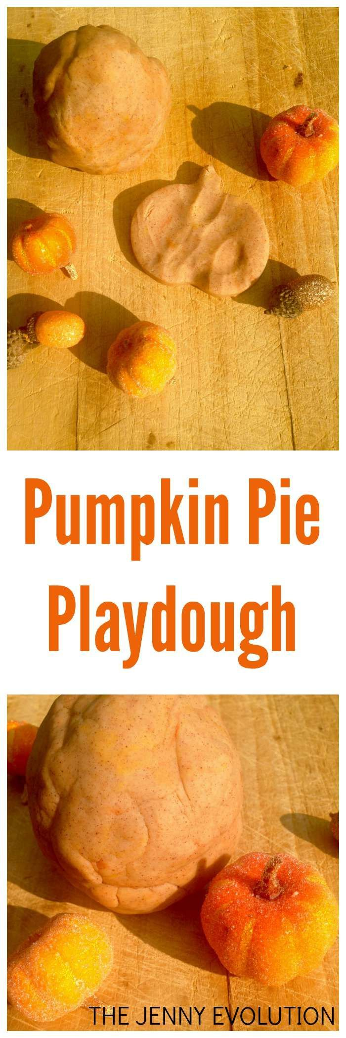 Fall Sensory Playdough