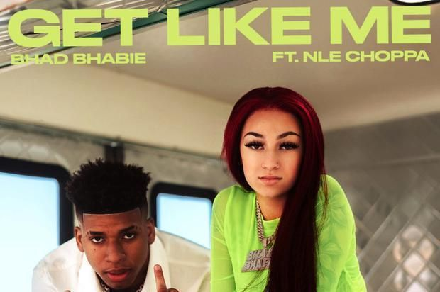 Bhad Bhabie Nle Choppa Turn Up On New Banger Get Like Me Get Like Me Billboard Music Awards Billboard Music