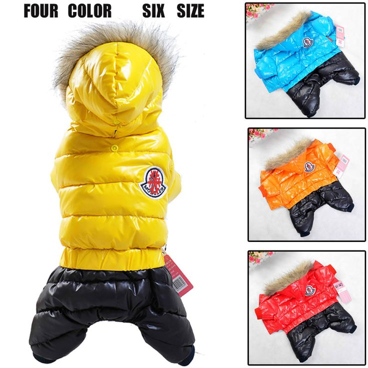 Winter Pet Dog Clothes Wear Jacket New Small Medium Big For Pet dog Clothing Costume XS- XXL Jumpsuit Warm Coat chihuahua Girl