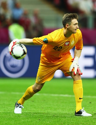 Poland's backup keeper, Przemyslaw Tyton