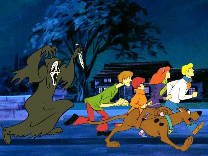 Iconic Horror Movie Villains Reimagined as 'Scooby Doo' Bad Guys