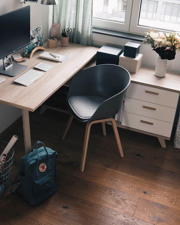 """Gefällt 1,663 Mal, 11 Kommentare - Anni (@bildhuebschblog) auf Instagram: """"(Anzeige) Update in our little office: showing you together with @roombeez.de our new desk…"""""""