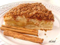 La Cocina de Ani: La tarta de manzana con costra de canela
