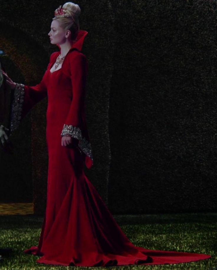 The Red Queen, from Once Upon a Time in Wonderland on ABC.