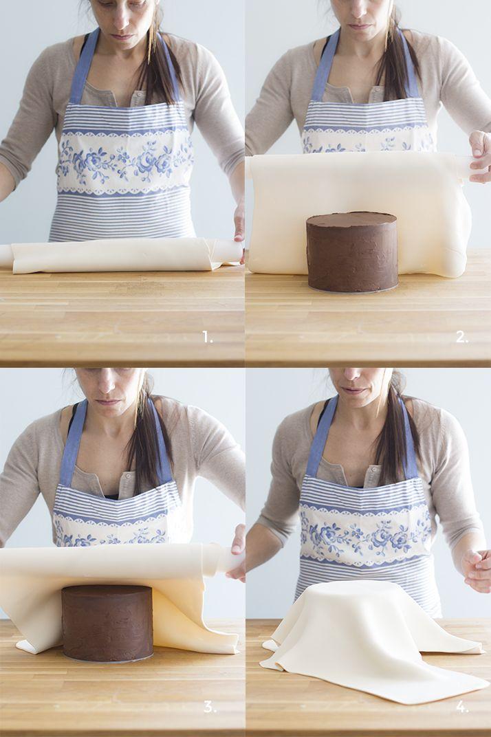 Como forrar una tarta con fondant: paso a paso - Megasilvita