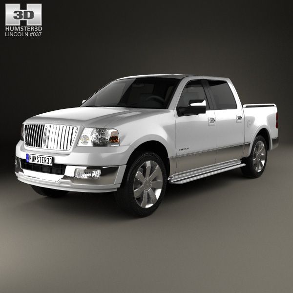 Lincoln Mark LT 2005 3d model from Humster3D.com.
