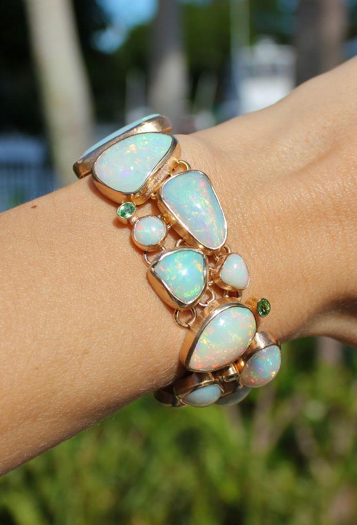 Pamela Huizenga Jewelry Opal Bracelet