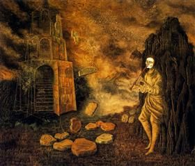 The flautist - Remedios Varo