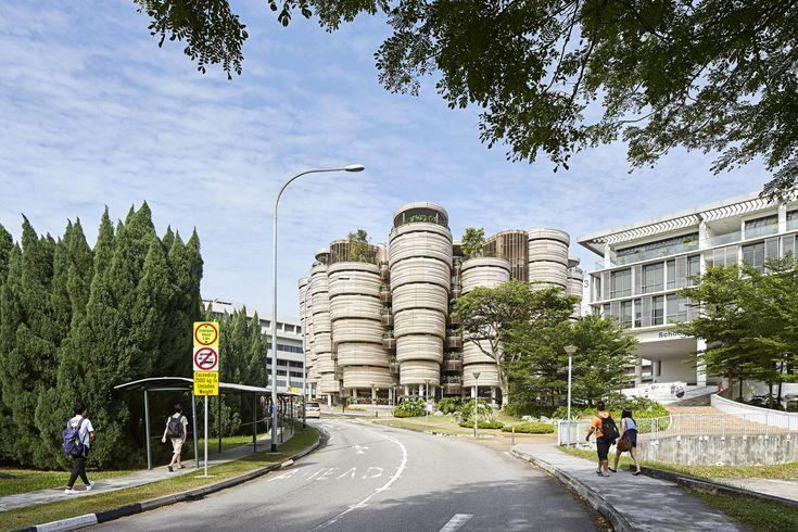 Learning Hub, Nanyang Technological University on Architizer