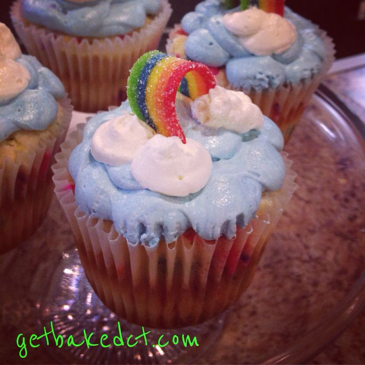 Pride cuppys! These always bring a smile on a dreary day!
