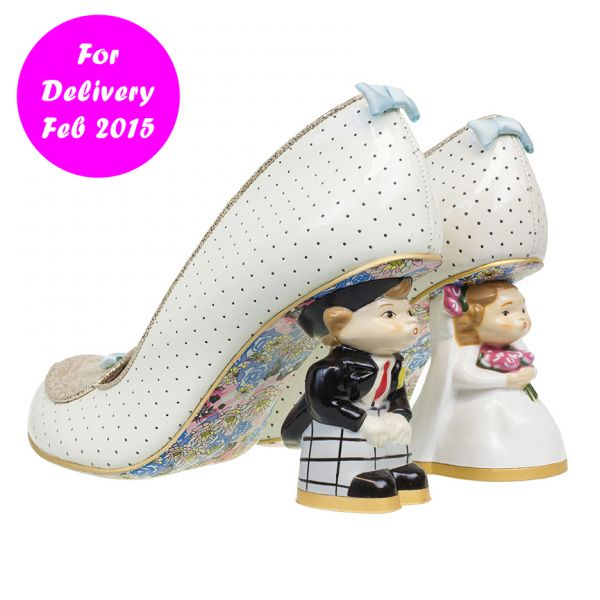 Unique wedding shoes! By Irregular Choice