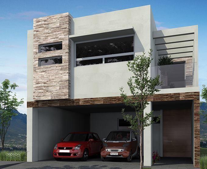 271 melhores imagens sobre fachadas de casas no pinterest for Casas premoldeadas minimalistas
