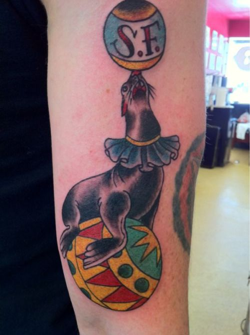 Circus Elephant Tattoo Tumblr Images & Pictures - Becuo