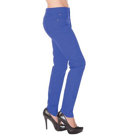 Look what I found on #zulily! Blue Skinny Pants by Jawbreaker #zulilyfinds
