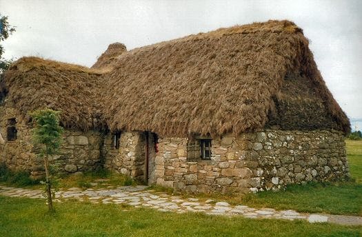 Leanach Cottage, Culloden Scotland - Culloden is a must stop when in Inverness!  Read up about the battle that took place there, and you will appreciate the feeling you get while walking around the battlefield.